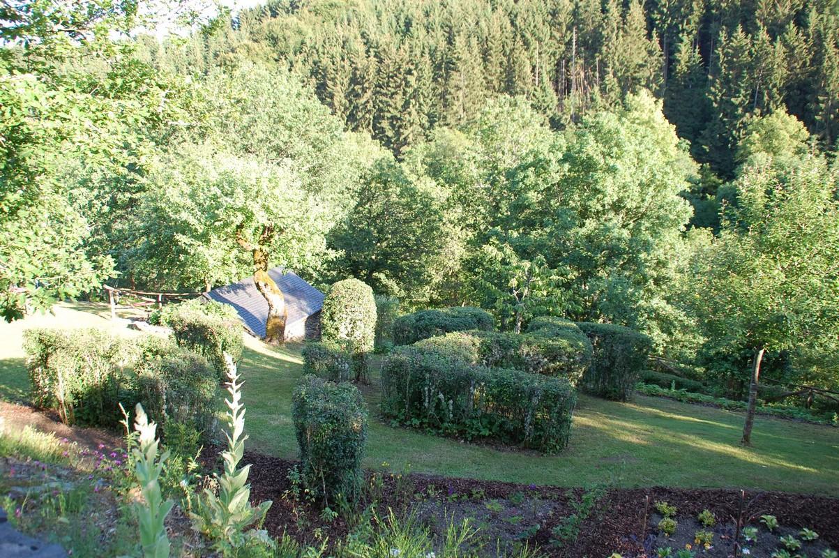 Häeregaart jardin paroissial Pfarrgarten parish garden Bavigne