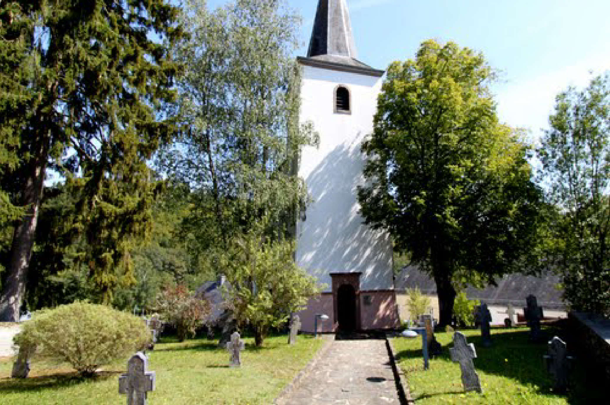 Kirche Eglise Church Bavigne