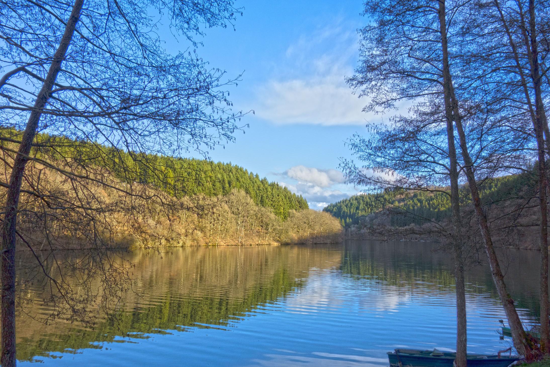 Stausee Stauséi Lac de la Haute-Sûre